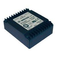 Plochý transformátor Weiss UI 39, 230 V/2x 12 V, 2x 583 mA, 14 VA