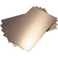 Epoxidová DPS Bungard 020306Z33-50, 160 x 100 x 1,5 mm, oboustranná, epoxyd, 50 ks