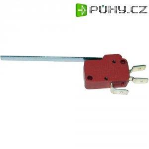 Mikrospínač MARQUARDT série 1005, 10 A, 6,3 mm, rovná p.