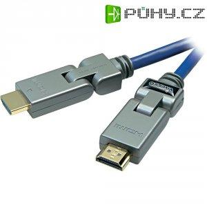 HDMI kabel Sound & Image s otočnými konektory 1,5 m