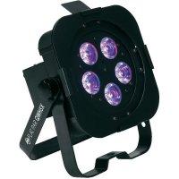 LED reflektor ADJ Flat PAR QWH5X, 1226100245, 25 W, barevná