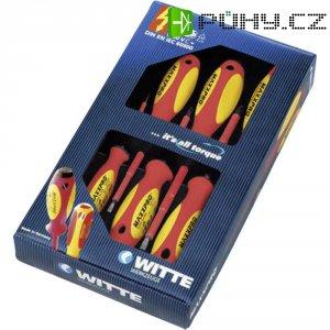 Sada plochých/křížových šroubováků Witte PH VDE, DIN EN 60900, speciální ocel, 7dílná