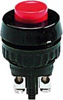 Tlačítko RAFI, 110001001.0301, 1x vyp/(zap), 250 V/AC, 0,7 A, červená