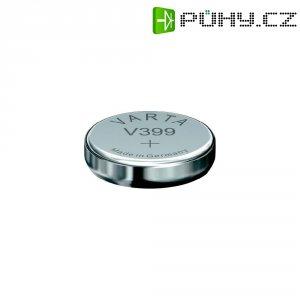 Knoflíková baterie 399, Varta SR57, na bázi oxidu stříbra, 00399101111