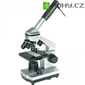 Mikroskop Bresser Junior 40x - 1024x, USB výstup, v kufříku, horní i dolní LED