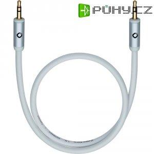 Připojovací kabel Oehlbach, jack zástr. 3.5 mm/jack zástr. 3.5 mm, bílý, 1,5 m
