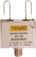 Anténní zesilovač TEROZ 408F 21-69k