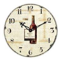 Analogové nástěnné retro hodiny Techno Line WT 1012, Ø 34cm