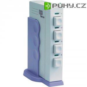 4-násobný USB přepínač