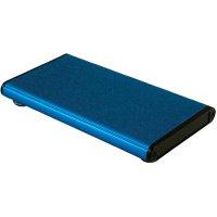 Univerzální pouzdro hliníkové Hammond Electronics, (d x š x v) 120 x 70 x 12 mm, modrá