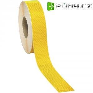 Obrysová svítící páska 3M Diamond Grade, DR-1230-4300-9, 50 m, žlutá