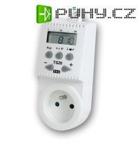 Tepelně spínaná zásuvka TS20 (zásuvka s termostatem)