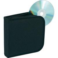 Taška pro 28 CD černá 28 CD/DVD (š x v x h) 158 x 40 x 160 mm Renkforce