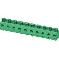 Pružinová svorkovnice 4nás. Phoenix PTS 1,5/ 4-7,5-H (1703086), AWG 26-14, 7,5 mm, zelená