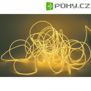 Elektroluminiscenční kabel, Ø 2 mm, 2 m, oranžová