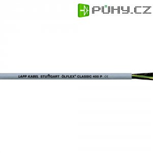Datový kabel LappKabel Ölflex 400 P, 3 x 0,75 mm², šedá, 1 m