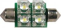 Žárovka LED-4x SV8,5-8 12V sufit bílá