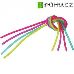 Silikonové palivové hadice Reely, Ø 2 mm, neonové barvy, 4 ks