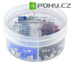 Sada kabelových dutinek 0.5 - 2.5 mm², 400 ks