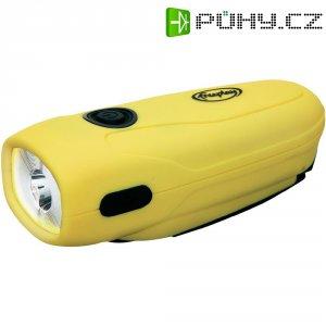Kapesní LED svítilna s dynamem FreePlay Mini-Sherpa, žlutá/černá