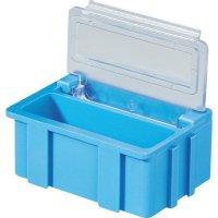 Box pro SMD součástky Licefa, N22371, 37 x 12 x 15 mm, zelená