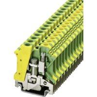 PE svorka Phoenix Contact USLKG 6 N (0442079), šroubovací, 8,2 mm, zelenožlutá