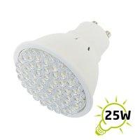 Žárovka LED GU10/230V (54LED-H) 2.7W - bílá