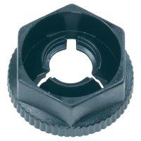 Zasouvací matice M5 PB Fastener KN50, 10 x 11,7 x 5,8 x 2 mm, černá