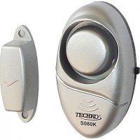 Dveřní alarm s magnetem S080K,siréna 95dB/m