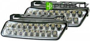 Světla pro denní svícení DRL10 20xLED 12/24V
