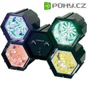LED efekt, 4kanálový, červená/modrá/žlutá/zelená