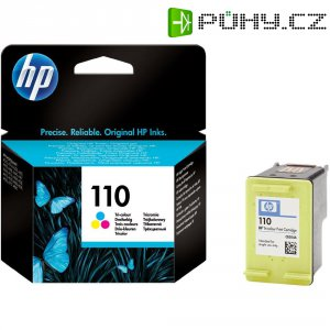Cartridge do tiskárny HP CB304AE (110), cyanová/magenta/žlutá
