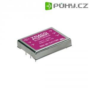 DC/DC měnič TracoPower TEN 20-4822WI, vstup 18 - 75 V/DC, výstup ±12 V/DC, ±835 mA, 20 W