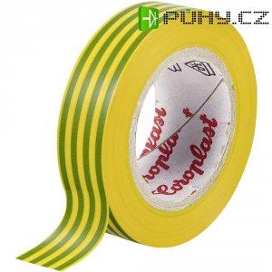 Izolační páska Coroplast, 302, 15 mm x 25 m, žlutozelená