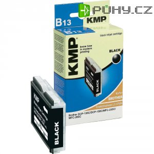 Cartridge KMP B13 = BROTHER LC-970, 1060,0001, černá