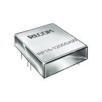 DC/DC měnič Recom RP15-2415SAW, vstup 9 - 36 V, výstup 15 V, 1000 mA, 15 W