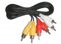 Kabel 3xCINCH - 3xCINCH 1.5m