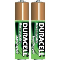 Akumulátor Duracell StayCharged, NiMH, AAA, 800 mAh, 2 ks