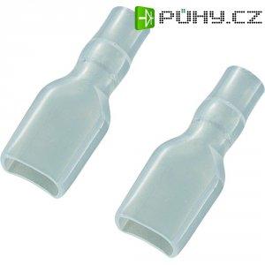 Izolační objímka 01016-6,3, 6,3 mm, Měkké PVC, transparentní