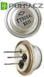 GT906A - tranzistor PNP 75V/6A 15W 30MHz /1T906A/
