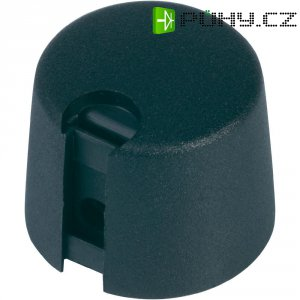 Ovládací knoflík OKW A1040069, Ø 40 mm x V 16 mm, 6 mm, černá