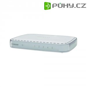 Switch Netgear Gigabit GS605, 5-portový