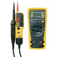 Digitální multimetr Fluke 175 + dvoupólová zkoušečka Fluke T110