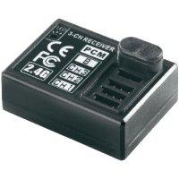 Přijímač Modelcraft FS-R3A, 2,4 GHz FM PCM, 9 kanálů, JR/Futaba