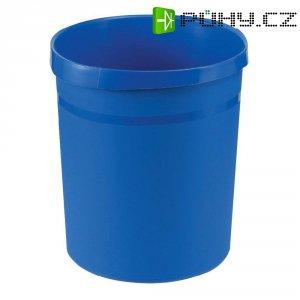 Koš na papír, modrý, 18 litrů