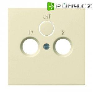 Rámeček TV/RADIO/SAT Gira, standard 55, krémově bílá (0869111)