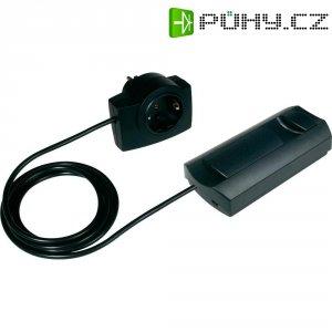 Mezizásuvka se stmívačem Ehmann pro elektrické trafo, 230 V, 20-500 W, černá