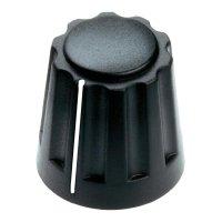 Otočný knoflík Mentor 4331.4001, 4 mm, matně černá