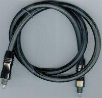 Kabel optický TOSLINK-TOSLINK 8mm/80cm, DOPRODEJ
