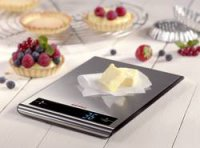Digitální kuchyňská váha Soehnle Attraction, stříbrná
